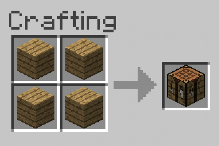 How To Make A Crafting Table In Minecraft Xbox One