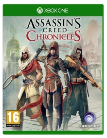 Jaquette Assassin's Creed Chronicles : Trilogy