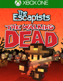 Jaquette The Escapists: The Walkind Dead